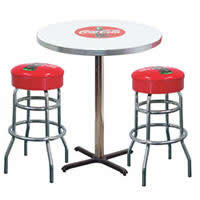 coke table and stools